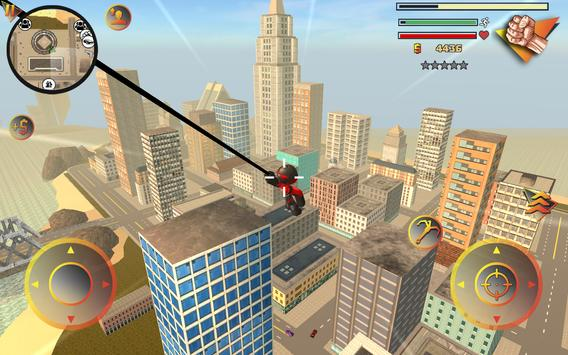 Stickman Rope Hero 2 apk screenshot