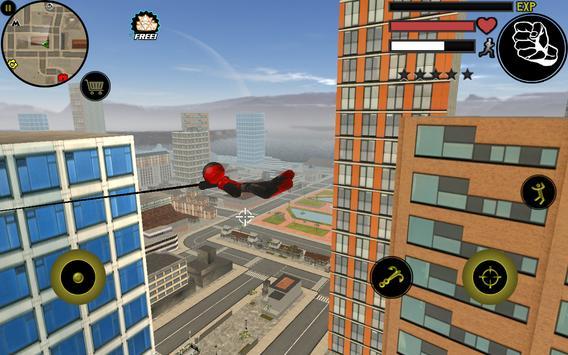 Stickman Rope Hero apk screenshot