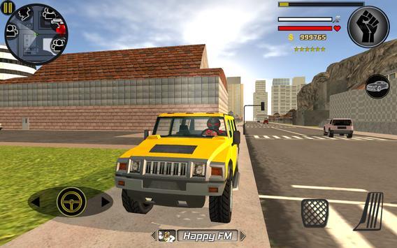 Stickman Rope Hero captura de pantalla 6