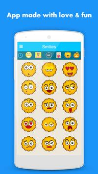 Smileys for Whatsapp  2018 poster