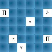 Igra memorije: matematički simboli - dva igrača icon