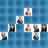 Igra memorije - matematičari - 2 igrača icon