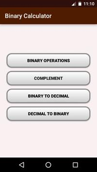 Binary Calculator poster