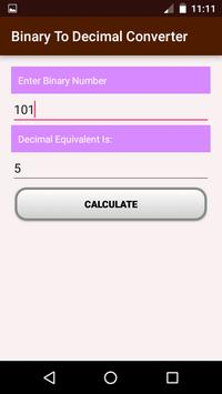 Binary Calculator apk screenshot