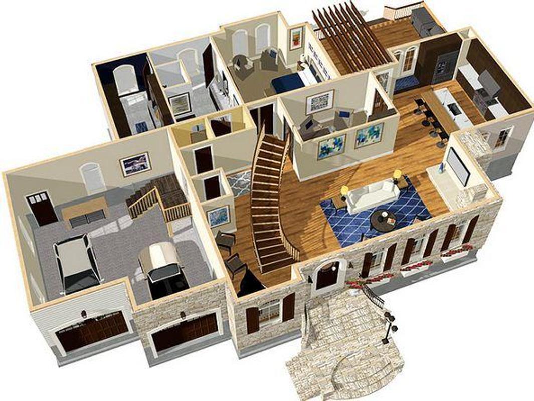 Dise o de casa 3d descarga apk gratis arte y dise o for Aplicacion para diseno de casas