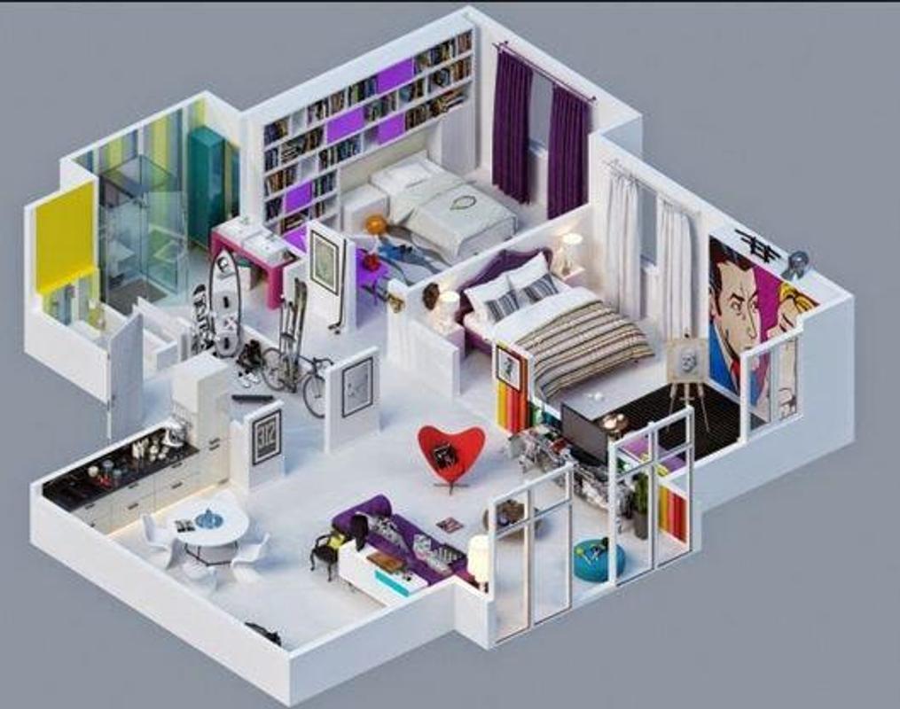 Dise o de casas en 3d minimalista descarga apk gratis casa y hogar aplicaci n para android - Diseno de casa en 3d ...