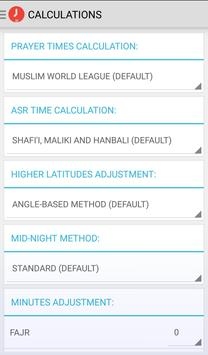 PRO Prayer Salah Times UK Only apk screenshot