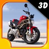 Motor Bike Death Racing 3D icon