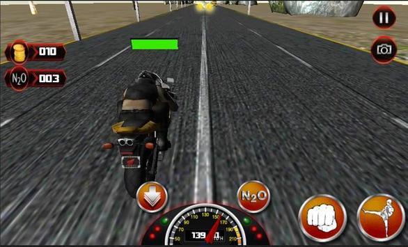 Motor Bike Death Racing 3D poster