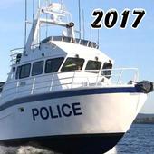 Police Boat Simulator icon