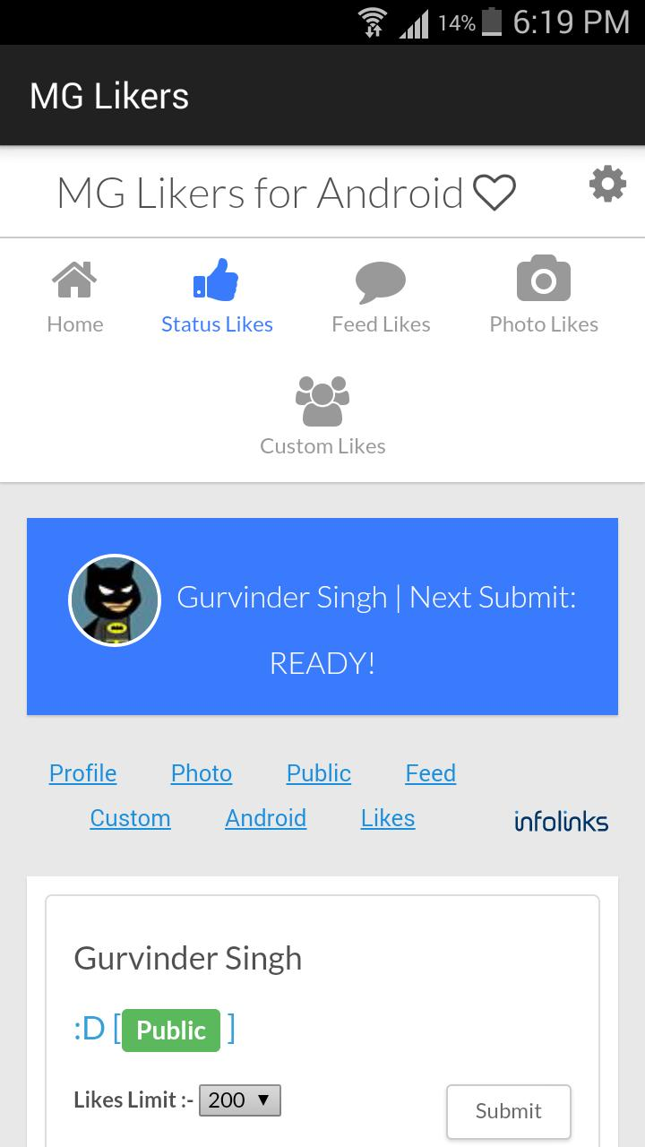 MG Likers for Android - APK Download