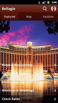 Bellagio Las Vegas poster