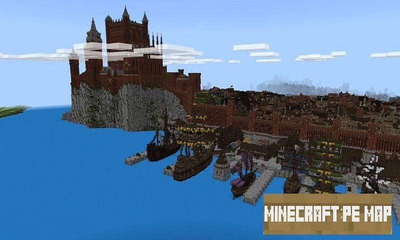 WinterFell Map for MCPE 3