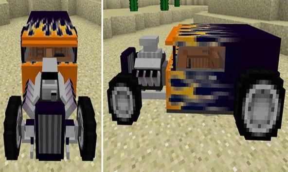 Cool HotRod Car for PE apk screenshot