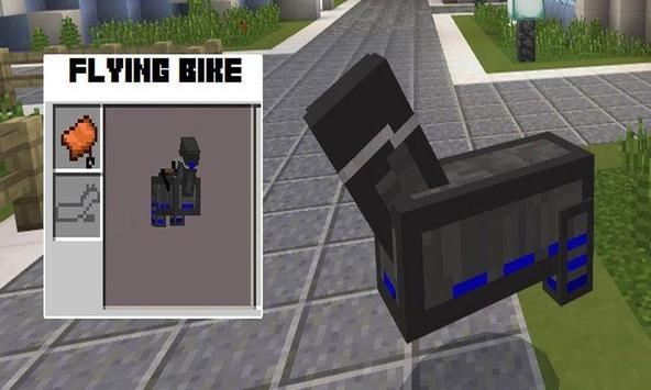 Flying Bike for PE poster