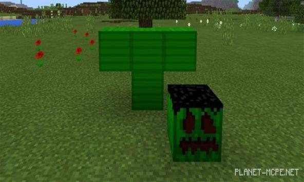 Flying Green Beast for PE apk screenshot