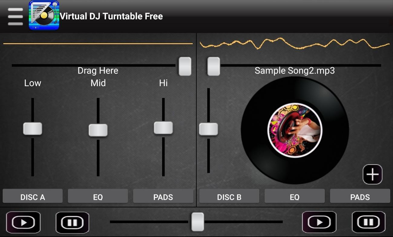 Virtual music mixer dj for android apk download.
