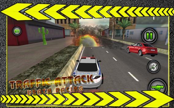Trafic Attack Death Racing apk screenshot