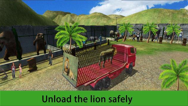 Zoo Animal Transport Truck 3D apk screenshot
