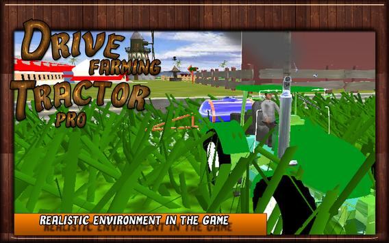 Drive Farming Tractor Pro poster