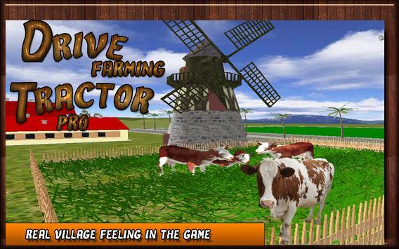 Drive Farming Tractor Pro apk screenshot