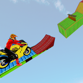 Motorcycle Stunt Game:Bike Stunt Game आइकन