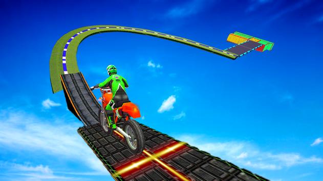 Motorcycle Stunt Game:Bike Stunt Game скриншот 10