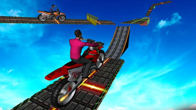 Motorcycle Stunt Game:Bike Stunt Game скриншот 1