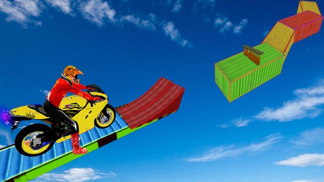 Motorcycle Stunt Game:Bike Stunt Game скриншот 4