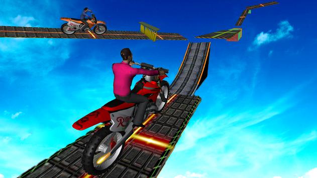 Motorcycle Stunt Game:Bike Stunt Game скриншот 5