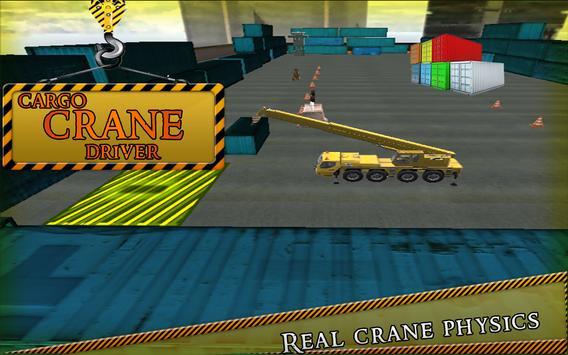 Cargo Crane Driver Simulator apk screenshot