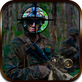 Commando Jungle Action FPS 3D icon