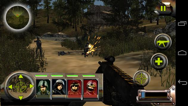 Commando Jungle Action FPS 3D screenshot 16