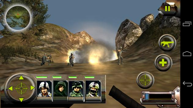 Commando Jungle Action FPS 3D screenshot 1