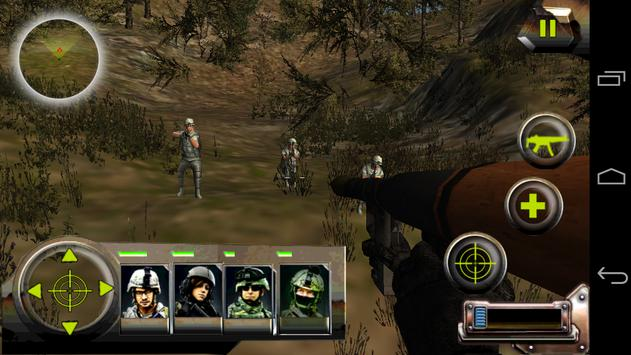 Commando Jungle Action FPS 3D screenshot 3