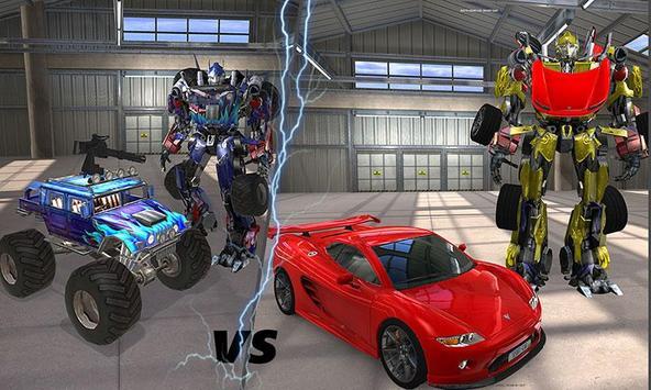 Clash of Transforming Robots screenshot 3