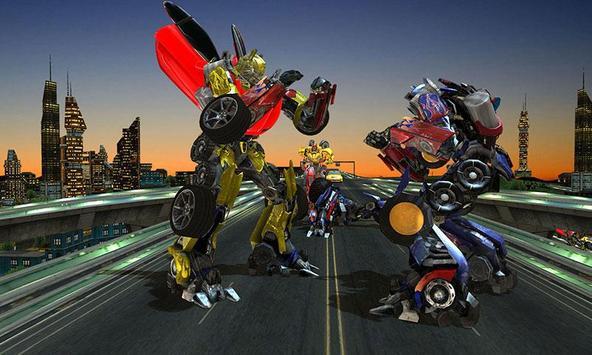 Clash of Transforming Robots poster