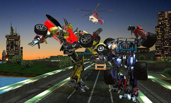 Clash of Transforming Robots screenshot 4