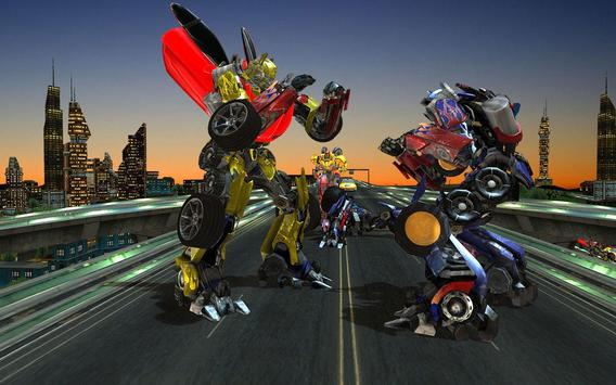Clash of Transforming Robots screenshot 5