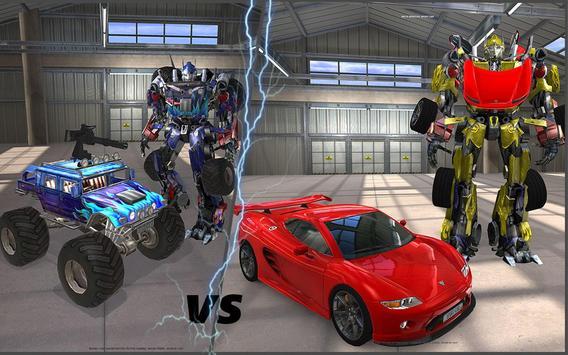 Clash of Transforming Robots screenshot 8