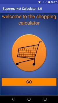 Supermarket Calculator 1.0 poster