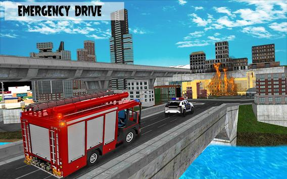 911 Police Car Simulator 3D : Emergency Games screenshot 10