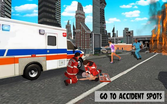 911 Police Car Simulator 3D : Emergency Games screenshot 6