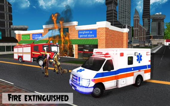 911 Police Car Simulator 3D : Emergency Games screenshot 9