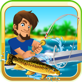 Deep Lake Reel Fishing icon