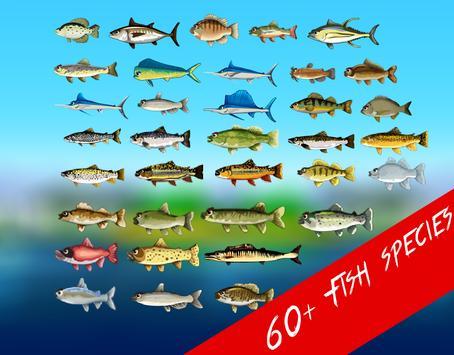 Deep Lake Reel Fishing स्क्रीनशॉट 19