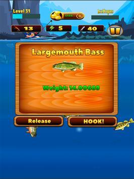 Deep Lake Reel Fishing स्क्रीनशॉट 1