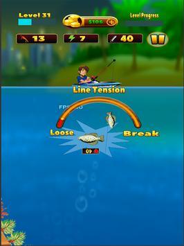 Deep Lake Reel Fishing स्क्रीनशॉट 3