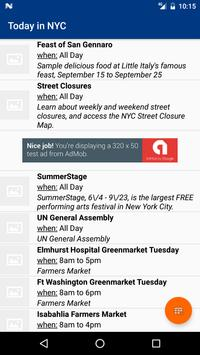Events In New-York City apk screenshot