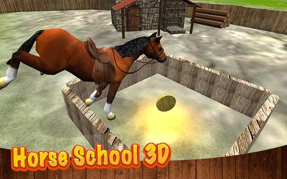 Horse School 3D poster